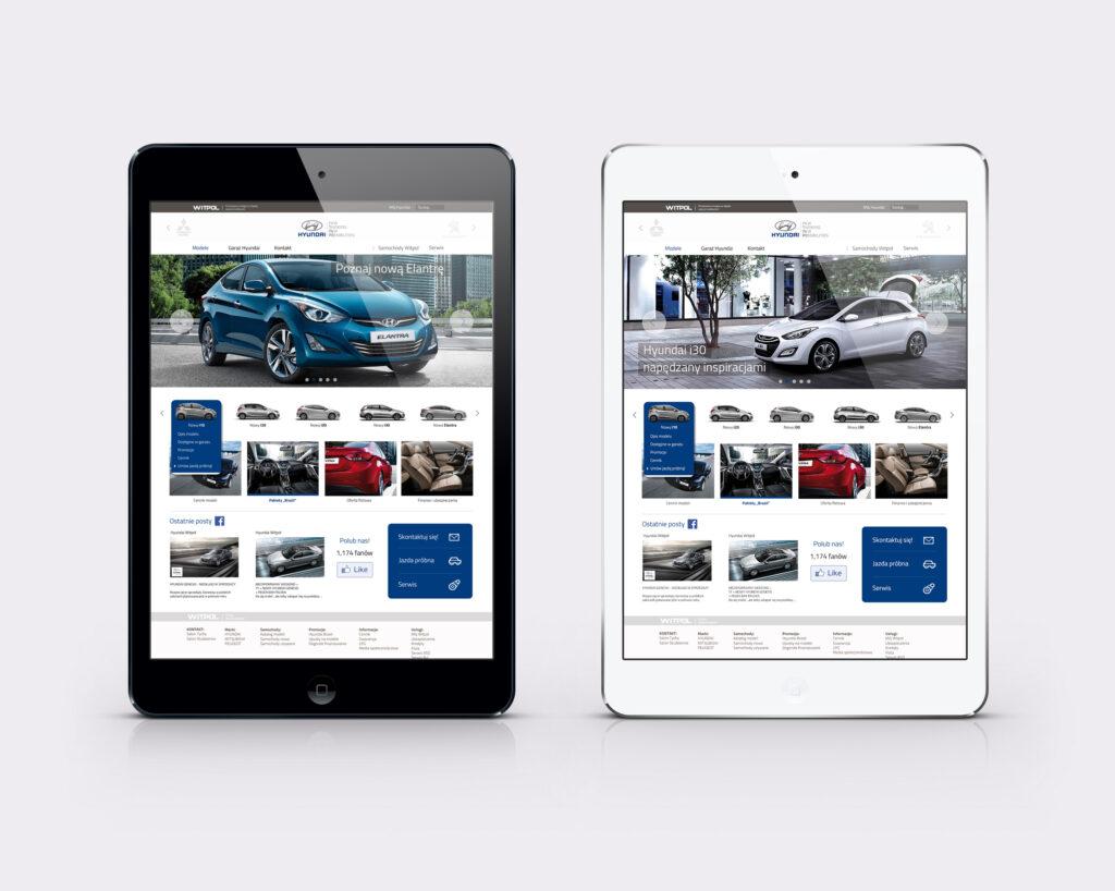 NUEKO Digital Portfolio - Hyundai Witpol strona www