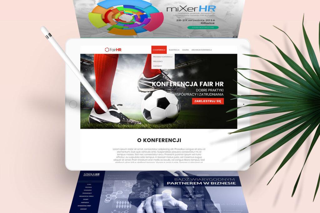 NUEKO Digital Portfolio - Conference websites