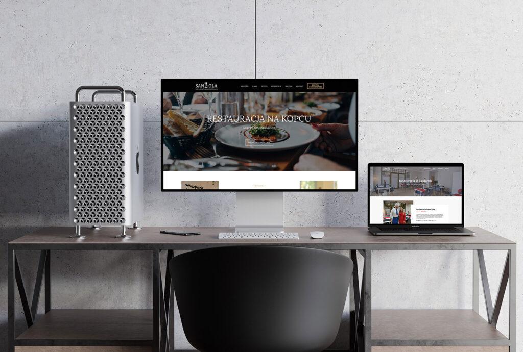 NUEKO Digital Portfolio - Strony dla restauracji